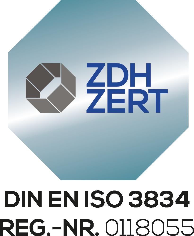 Logo Zertifikat 3834